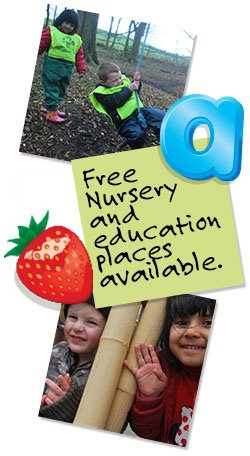 Free Nursery Places Available Burnett Fields